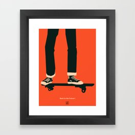 Back to the Future I Framed Art Print