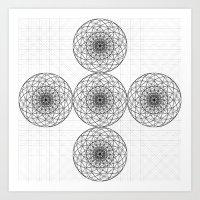 Geo Eight-side Art Print