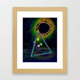 Luna Module Framed Art Print