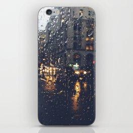 Raindrops iPhone Skin