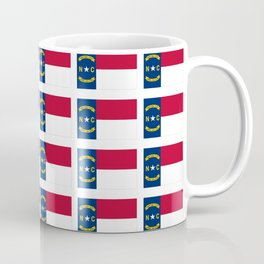 flag of  north carolina 2- south,america,usa,Old North State,Tar Heel,North Carolinian,Charlotte Coffee Mug