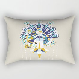 Gossip Rectangular Pillow