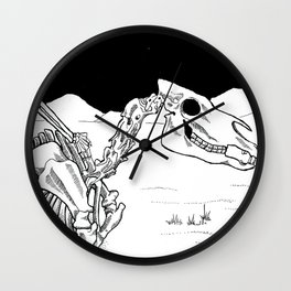 Horse With No Name Wall Clock