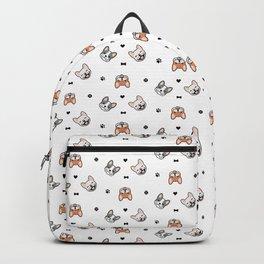 French Bulldog Prints Backpack