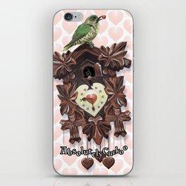 Absolutely Cuckoo by Lee Moyer iPhone Skin