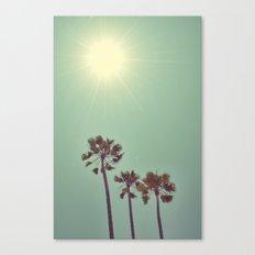 Beaming Canvas Print