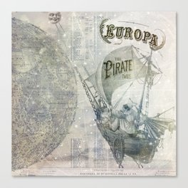 Europa and the Pirate Twins Canvas Print