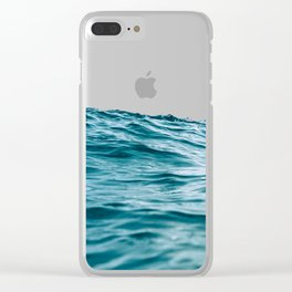 Lost My Heart To The Ocean Clear iPhone Case
