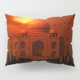 Taj Mahal Sunset Pillow Sham