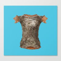 game of thrones Canvas Prints featuring Game Of Thrones Armor by Dan Cretu
