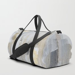 Metallic Abstract Duffle Bag