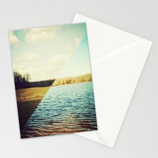 land/water Stationery Cards
