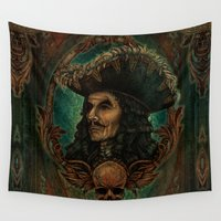hook Wall Tapestries featuring Hook by ManuelDA