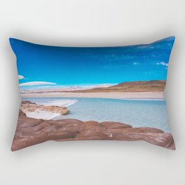 Piedras Rojas (Red Rocks), San Pedro de Atacama Desert, Chile 3 Rectangular Pillow