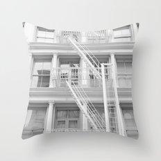Soho Escape Throw Pillow