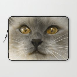 """Cute Kitty (Love cats)"" Laptop Sleeve"