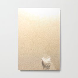 Light as a  Metal Print