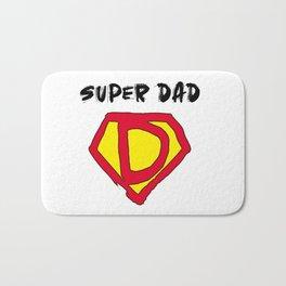 Super Hero Dad Bath Mat