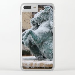 Ice Mares Clear iPhone Case