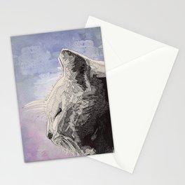 GeometriCat Stationery Cards