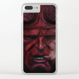 Hell Boy - 2015 Clear iPhone Case