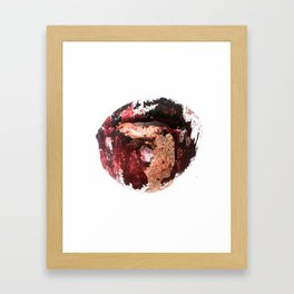 Magma Framed Art Print