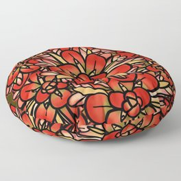 Indian Paintbrushes Floor Pillow