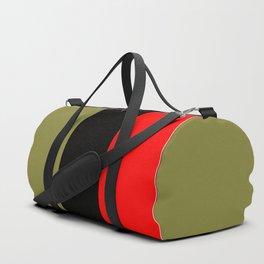 TEAM COLORS design 8...gold red, black Duffle Bag