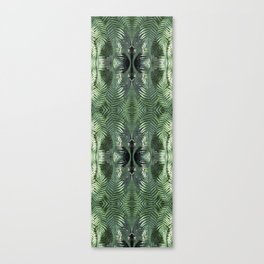 Bronx Botanical Garden Green Ferns Canvas Print
