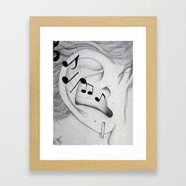 Musical Cognizance Framed Art Print