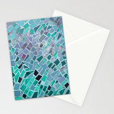 Crashing Waves Mosaic Stationery Cards