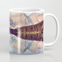 Moraine Lake Reflection Coffee Mug