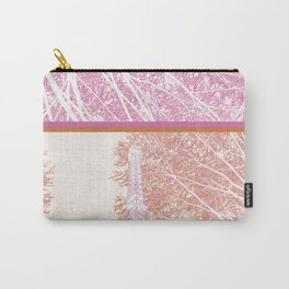 The French Eiffel tower in pink! Carry-All Pouch