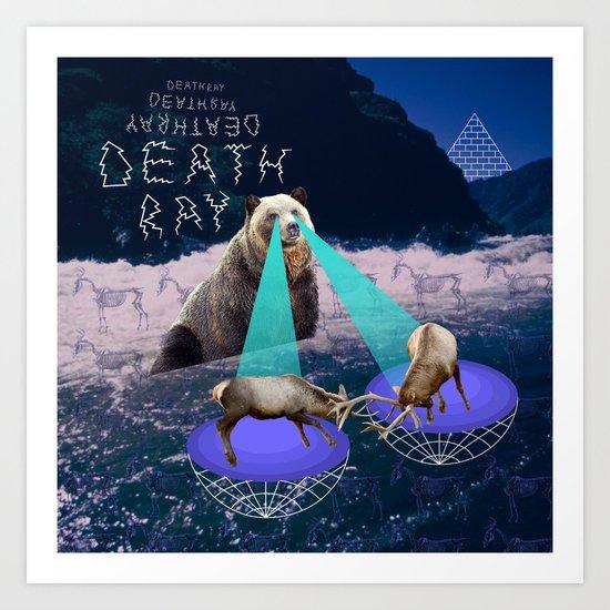 Death Ray Art Print