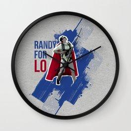 RandyForLO Wall Clock