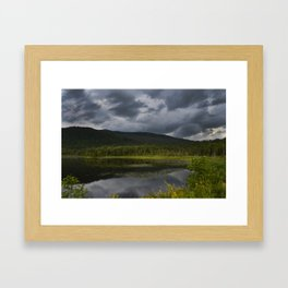 Long Pond in Eden, Vermont Framed Art Print