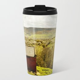 View of Robin Hoods Bay Travel Mug