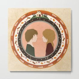 Circle Stories - Hansel & Gretel Metal Print