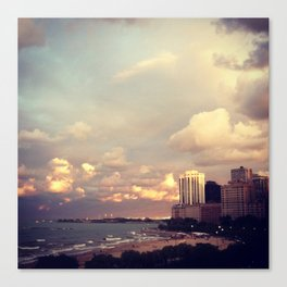 Lakefront Canvas Print