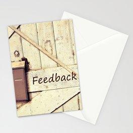 Feedback Stationery Cards