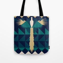 Aztec Peacock Tote Bag