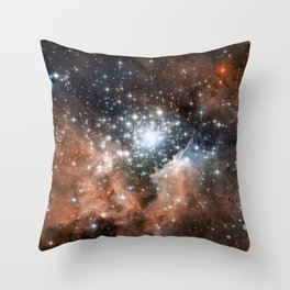 NGC3603 Nebula Throw Pillow