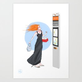 Sighting #2  Art Print