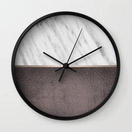 Manly Carrara Italian Marble Wall Clock