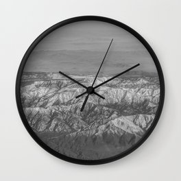 The Great Rockies Wall Clock