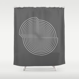 Abstract.02 Shower Curtain