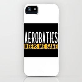 Aerobatics Gift Idea Design Motif iPhone Case