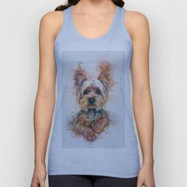 Yorkshire Terrier Unisex Tank Top
