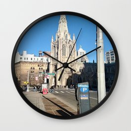 Church Steeple NYC Wall Clock