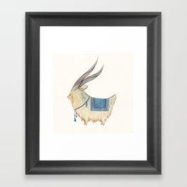-Ü- Framed Art Print